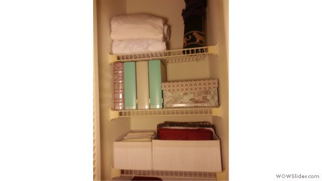 Linen Closet After